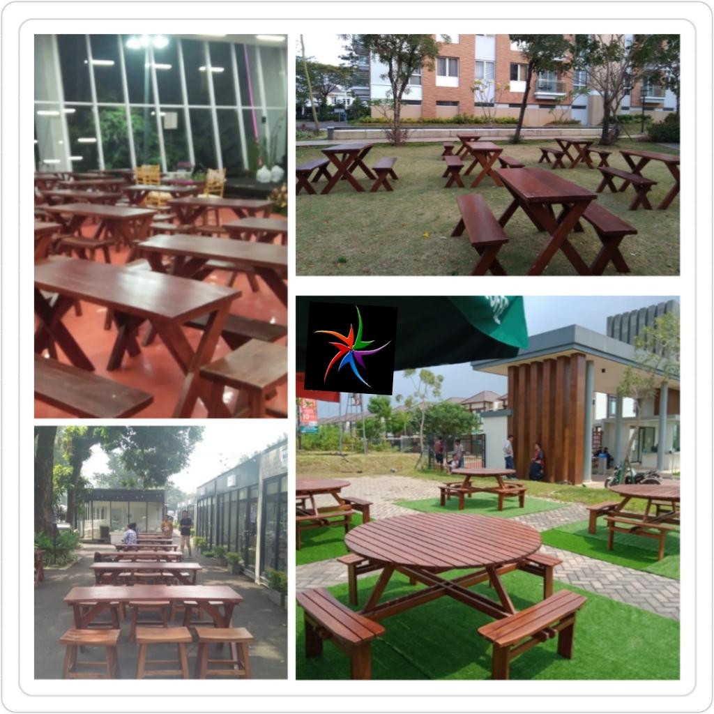 Sewa Meja Taman Jakarta Murah